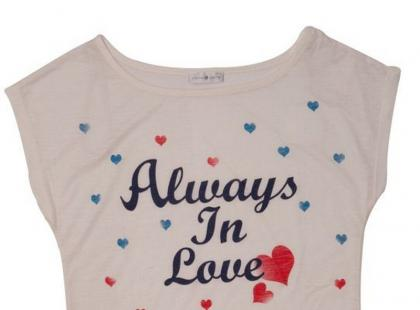 Romantyczne t-shirty na sezon letni 2012