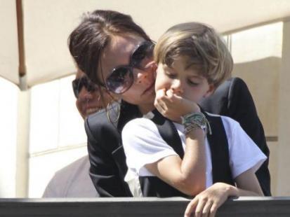 Romeo Beckham idzie w ślady mamy