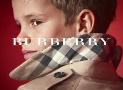 Romeo Beckham w spocie Burberry na wiosnę i lato 2013