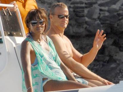 Rosyjski romans Naomi Campbell i Vladislava Doronina