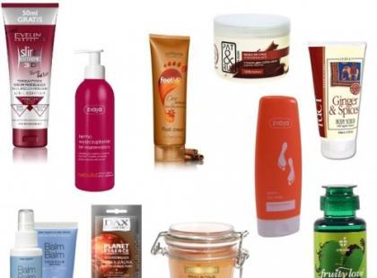 Rozgrzewające kosmetyki na chłodne dni – galeria