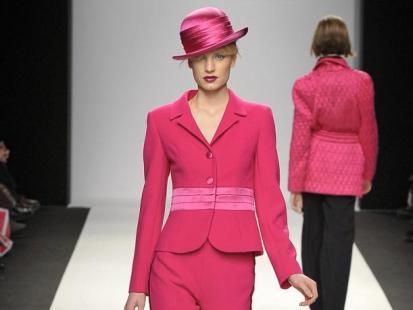Różowe ubrania - słodko, ale i drapieżnie