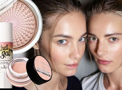 Rozświetlające kosmetyki do twarzy na lato 2014