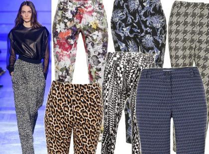 Rozweselmy jesienną aurę: przegląd wzorzystych spodni