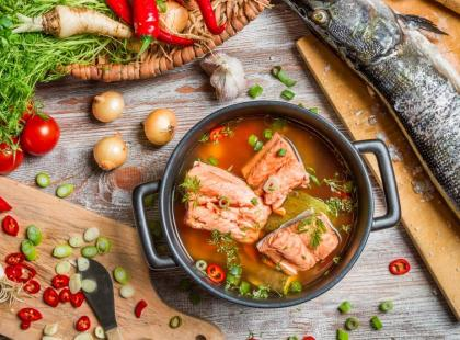 Ryby - składnik diety strukturalnej
