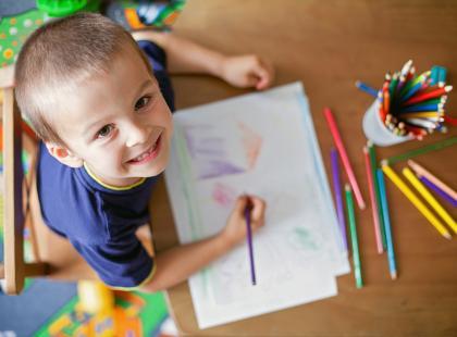 Rysunek dziecka - co oznacza?