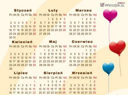 Rysunkowe kalendarze na 2012 rok - dla Ciebie i dzieci