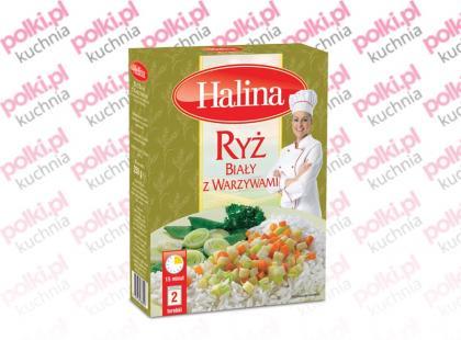 Ryż Biały z Warzywami marki Halina