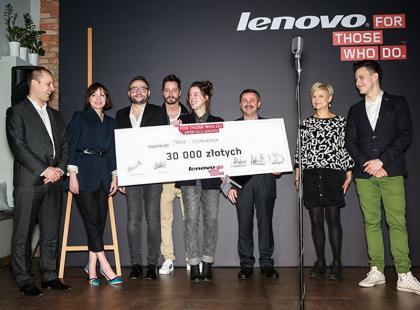 Są wyniki konkursu: For Those Who Do. Zrób to z Lenovo!