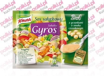 Sałatka Gyros 2w1 marki Knorr