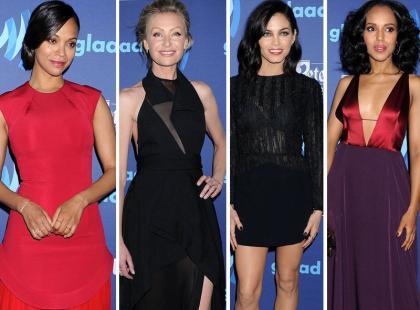 Saldana, de Rossi, Dewan-Tatum i Washinton na rozdaniu nagród GLAAD