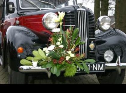 Samochód nowożeńców