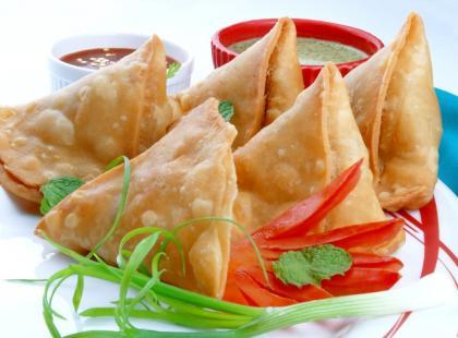 Samosa - wpływy kuchni indyjskiej w Kenii