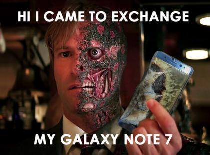 Samsung płonie, a w internecie gorąco - od memów i filmików. Wybraliśmy najlepsze