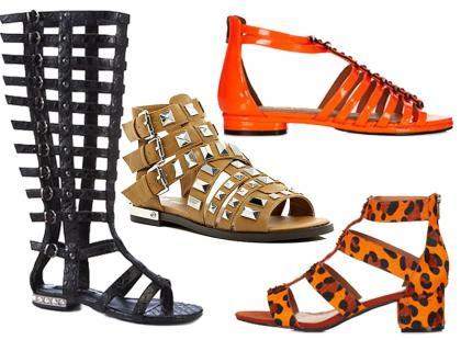 Sandałki gladiatorki hitem tego lata. Propozycie już od 99zł