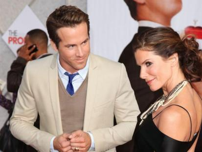 Sandra Bullock i Ryan Reynolds - Czy wzięli sekretny ślub...