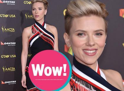 Scarlett Johansson zachwyca figurą 4 miesiące po porodzie