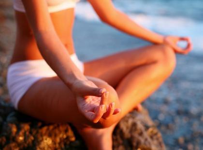 Schudnąć przez medytację!