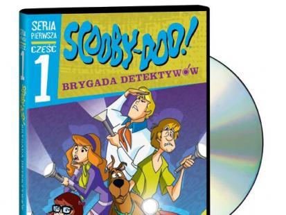 """""""Scooby Doo i Brygada Detektywów"""" cz.1 na DVD"""