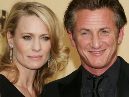 Sean Penn i Robin Wright - Małżeństwo to zabawa