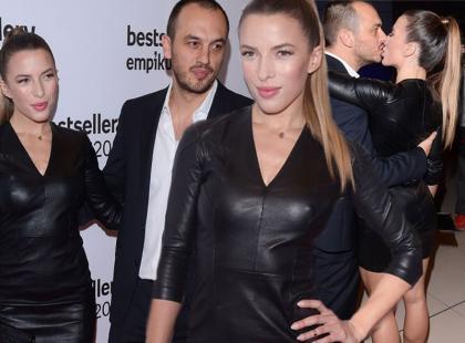Seksowna Chodakowska z mężem na gali Empiku
