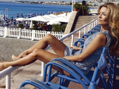 Seksowna Małgorzata Rozenek na wakacjach w Nicei