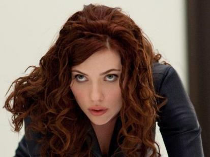 "Seksowna Scarlett Johansson w filmie ""Iron Man2"""