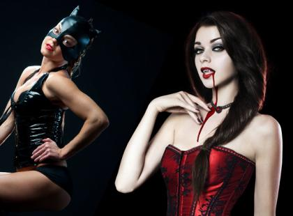 Seksowne kostiumy na Halloween – na imprezę i do sypialni! [galeria]
