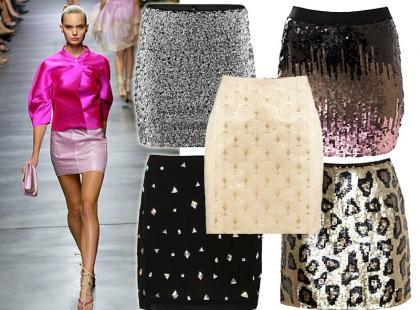 Seksowne spódnice mini na karnawał 2013