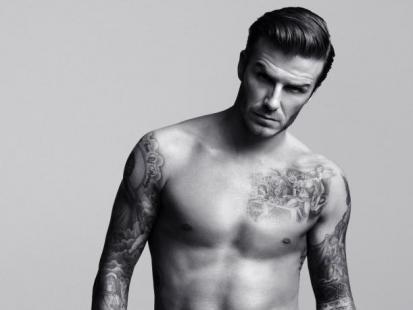 Seksowny Beckham w bieliźnie!