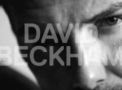Seksowny David Beckham w reklamie bielizny