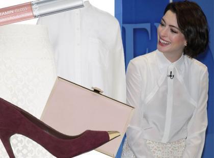 Seksowny look w stylu Anne Hathaway