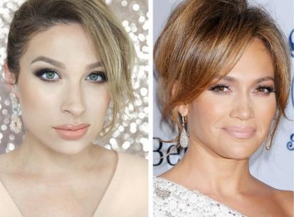 Seksowny makijaż w stylu Jennifer Lopez