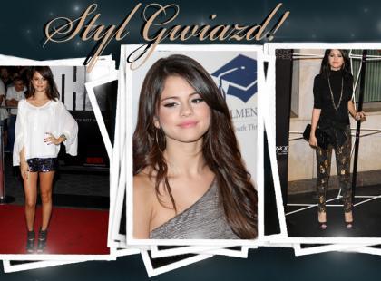 Selena Gomez - w jej stylu
