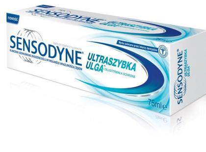 Sensodyne - ulga dla wrażliwych zębów