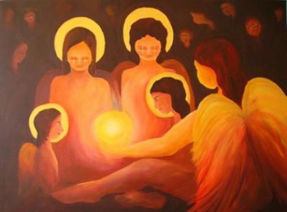Serafiny, Archaniołowie, Aniołowie… czyli prace Emilii Olma