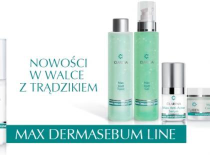 Seria kosmetyków Max Dermasebum - Clarena