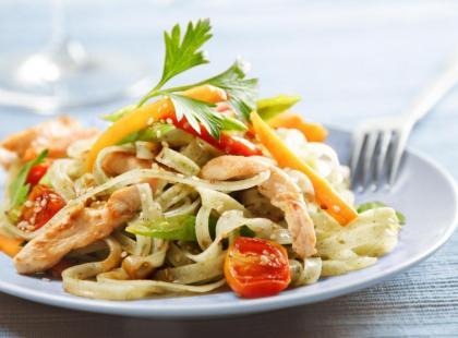 Serowa zapiekanka - danie wegańskie - przepis