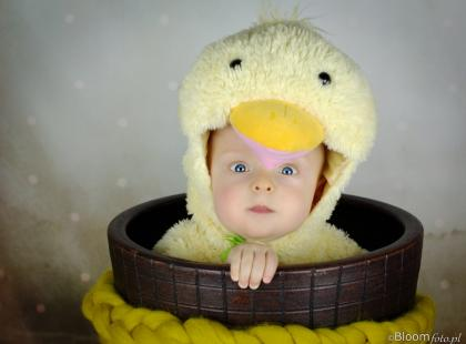 Sesja niemowlaka nie musi być nudna! Zainspiruj się!