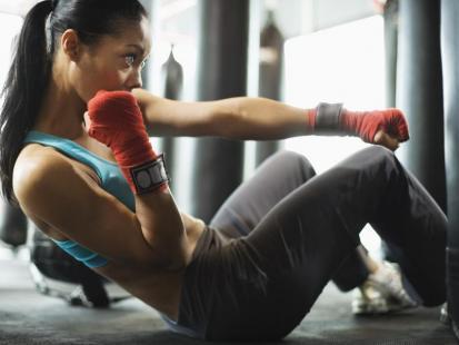 Sexy podczas treningu