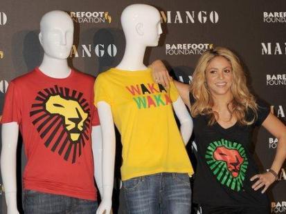 Shakira charytatywnie dla Mango