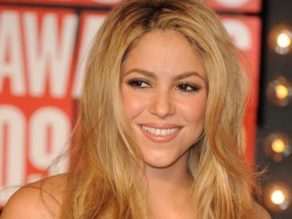Shakira i Pink w identycznej sukience