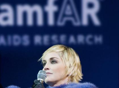 Sharon Stone promuje zegarki Diora