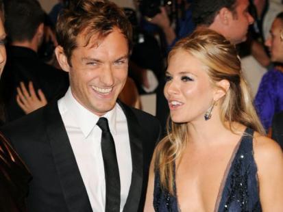 Sienna Miller i Jude Law - Związek wysokiego ryzyka