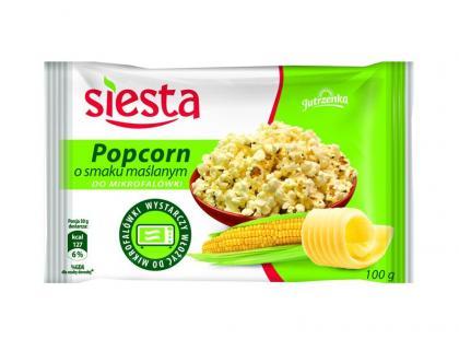 Siesta rozszerza swoje portfolio o Popcorn do mikrofalówki