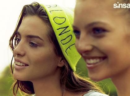 SiNSAY - kampania kolekcji wiosna-lato 2014