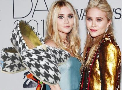 Siostry Olsen zaprojektowały buty