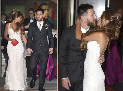 Skandal wokół ślubu Messiego! Czy matka powinna się tak ubrać na wesele syna?
