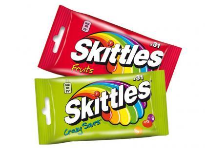 Skittles w nowym opakowaniu – poczuj tęczę!
