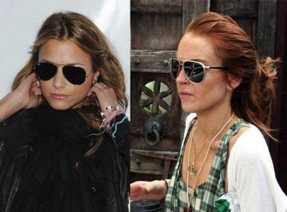Składniki stylu Lindsay Lohan